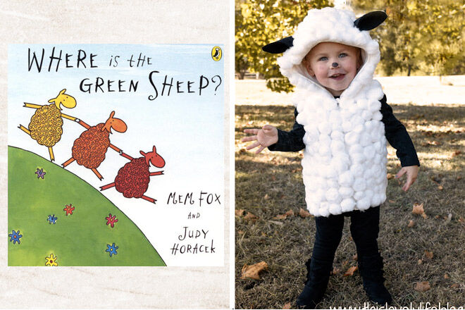 Book week costume ideas Where is the green sheep