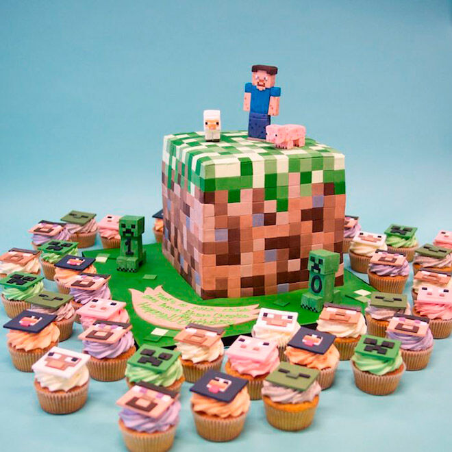 video game birthday kid party