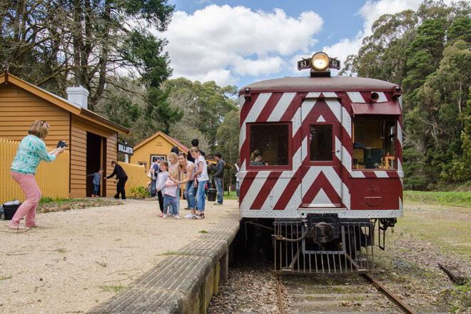 train victoria heritage rail kid family