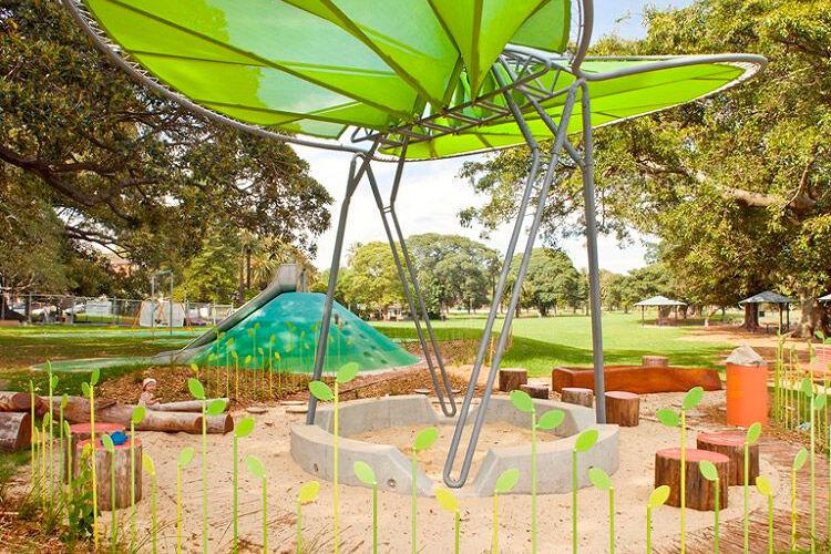 glebe sydney bicentennial park kid nature play