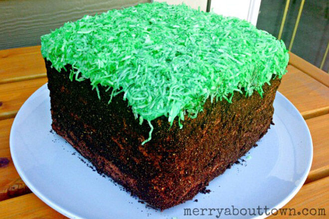 minecraft cake recipe. Modren Cake Minecraft Cake Kid Birthday Recipe In Minecraft Cake Recipe