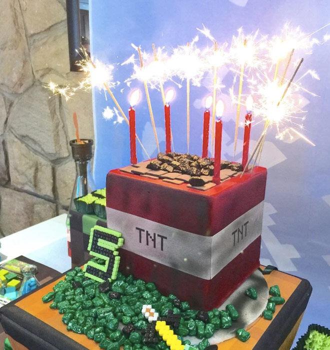 Best 25 Minecraft Ideas On Pinterest: 25 Inspirational Minecraft Cake Ideas (guide