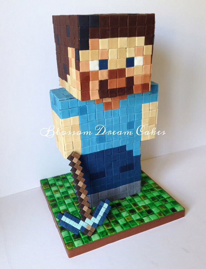minecraft video game birthday food party