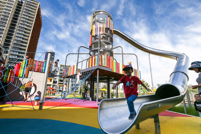Big Thrills At Wulaba Park Playground