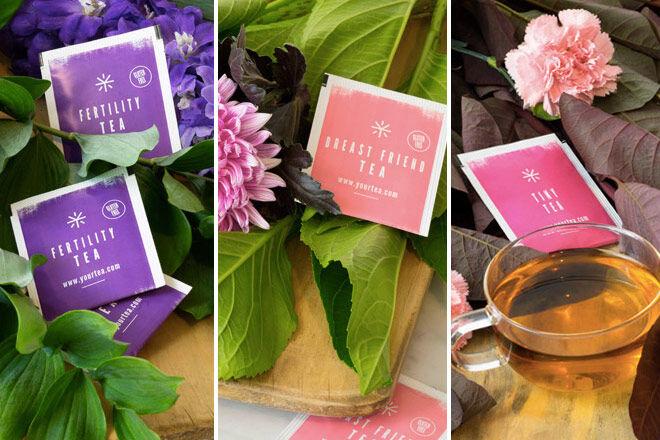 fertility tea, breastfeeding tea, detox tea