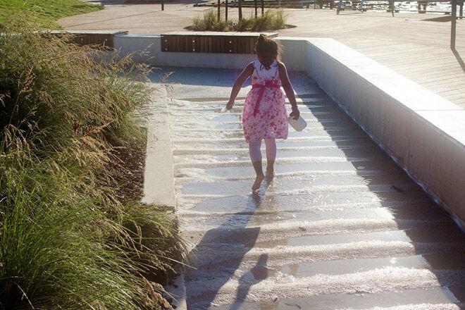 melbourne kids playground victoria water play