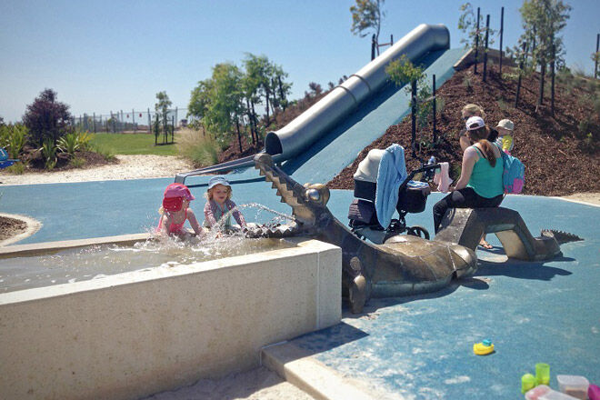 melbourne victoria play water playground kids