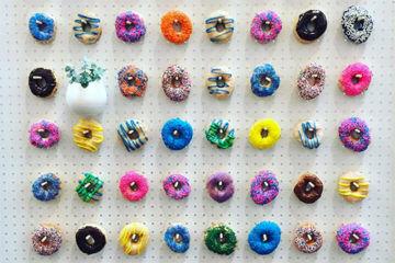 Donut Wall by kayleekerr_