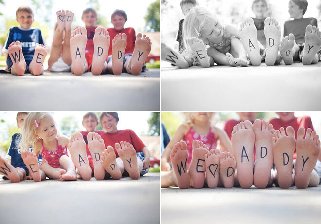 Fathers day photos kids DIY