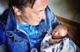 baby newborn celebrity chef
