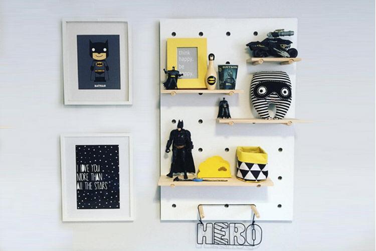 Kids Bedroom Kmart 10 crafty kmart hacks for kid's rooms | mum's grapevine