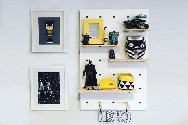 17 Ways To Style The Kmart Pegboard Mum S Grapevine