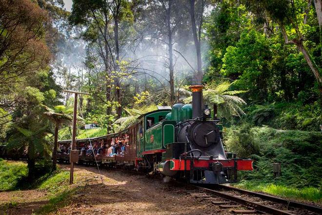steam victoria kid rail railway
