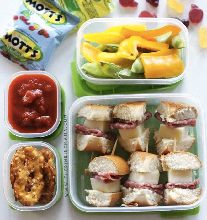 No sandwich lunch ideas kids pizza