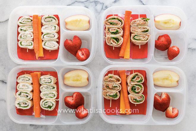 No sandwich lunch ideas kids tortilla