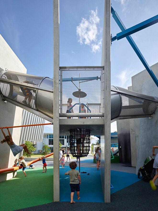 Queensland Brisbane kids play playground