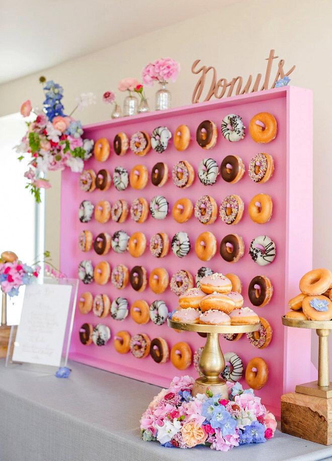 Boho Donut Wall
