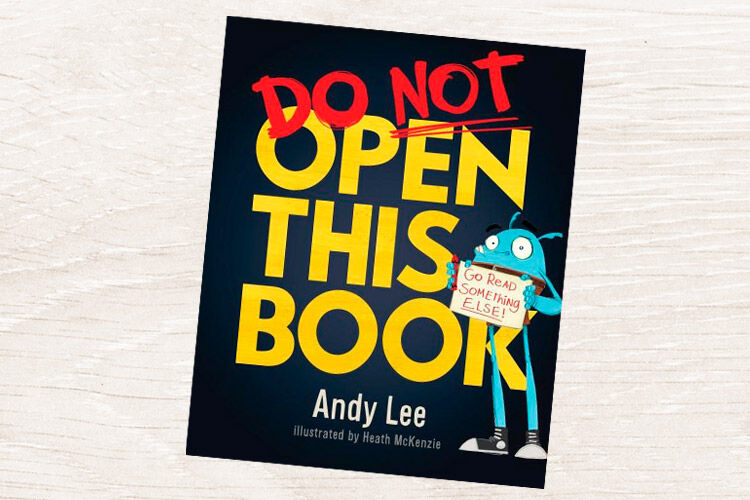 Book reivew andy lee do not open this book