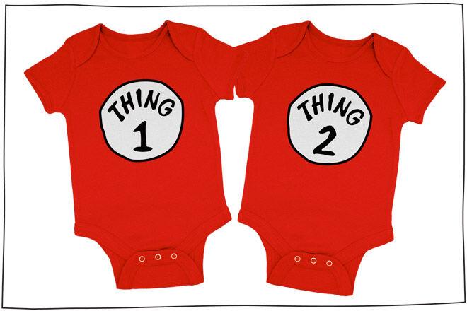 Dr Seuss Baby Clothes Twins