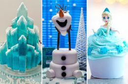 cake birthday disney elsa anna olaf