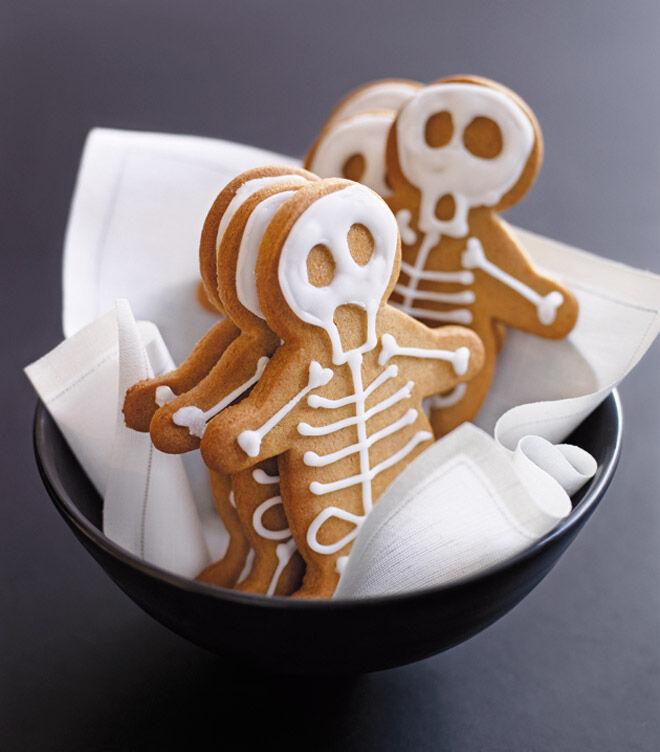 Halloween cookie biscuit recipe