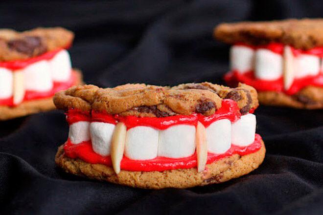cookies sweet homemade kids fun scary