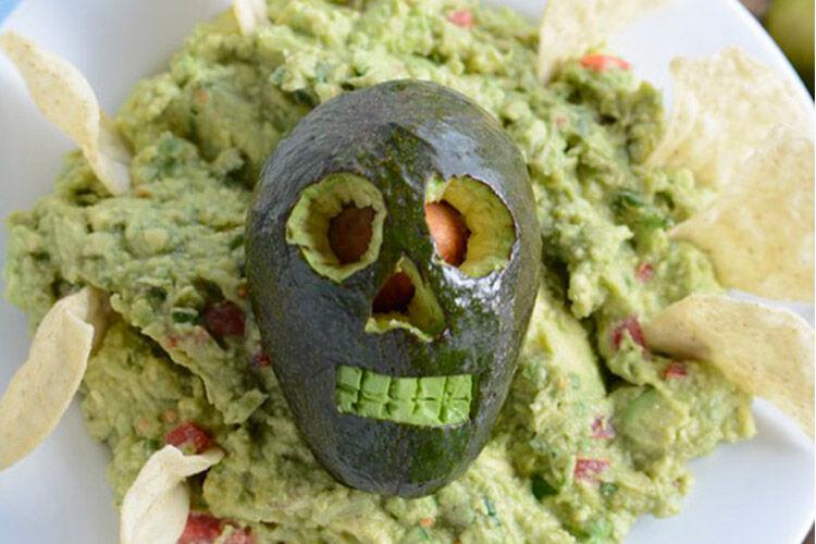 Avocado skull