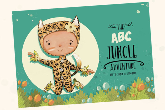 Personalised story book: ABC Jungle header