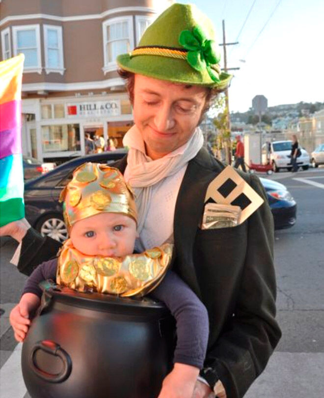 Halloween Irish baby dad St Patricks Day