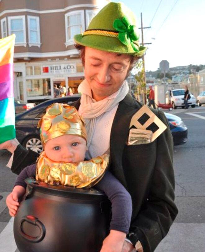 Halloween Irish baby dad St Patricks Day