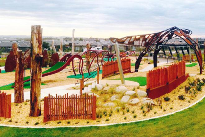 Megasaurus Park, Melbourne
