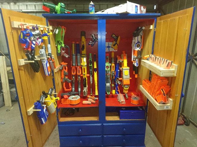 Ready Aim Tidy 8 Ways To Store Nerf Guns Mum S Grapevine
