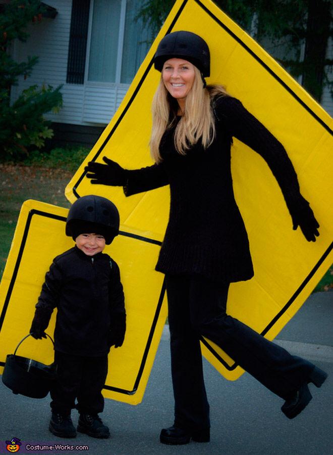 Halloween mum son kid