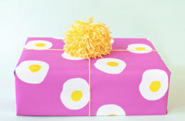 Printable gift wrap wrapping paper eggs