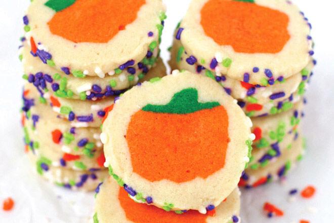 Halloween biscuits treat recipe
