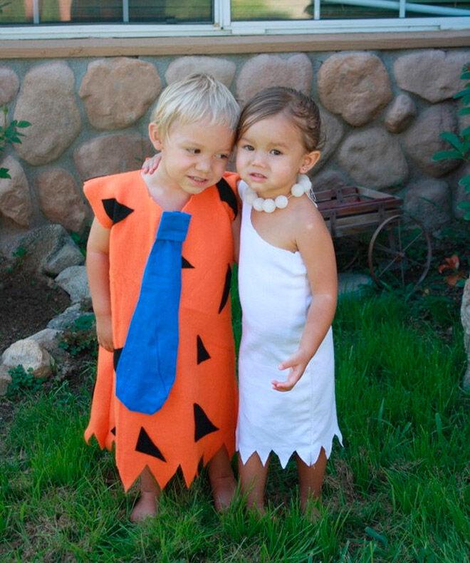 Halloween costume kids siblings