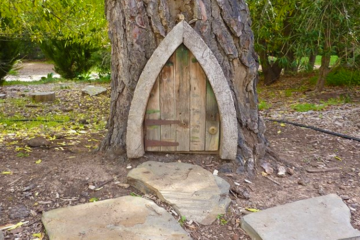 Fairy Door along the Story Book Trail in Carrick Hills