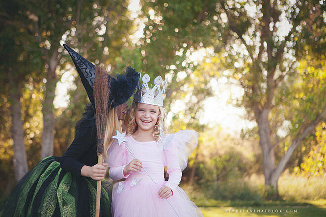 Halloween wizard of oz sister sibling