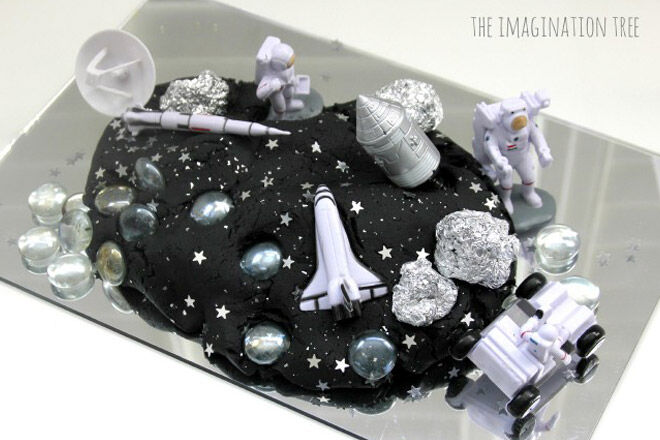 homemade recipe kids space universe