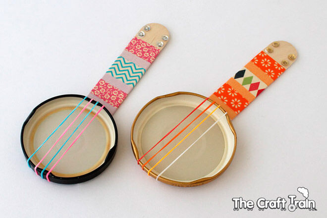Groove things: 14 DIY musical instruments for kids