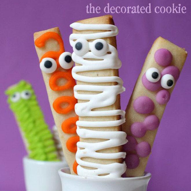 Halloween biscuit recipe treat