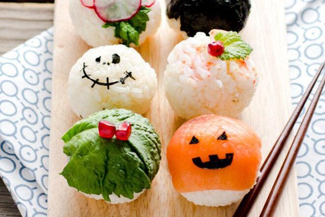 Halloween Japanese food recipe healthy