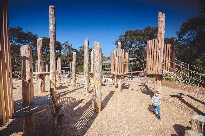 victoria vic playground kids nature play adventure