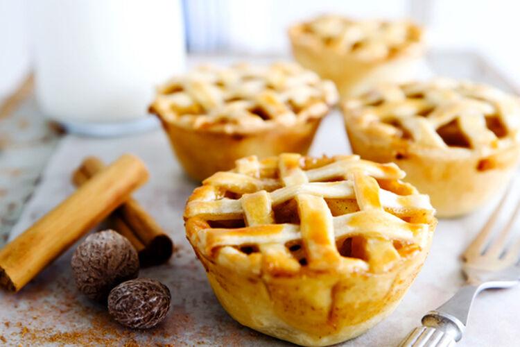 Family favourite apple pies
