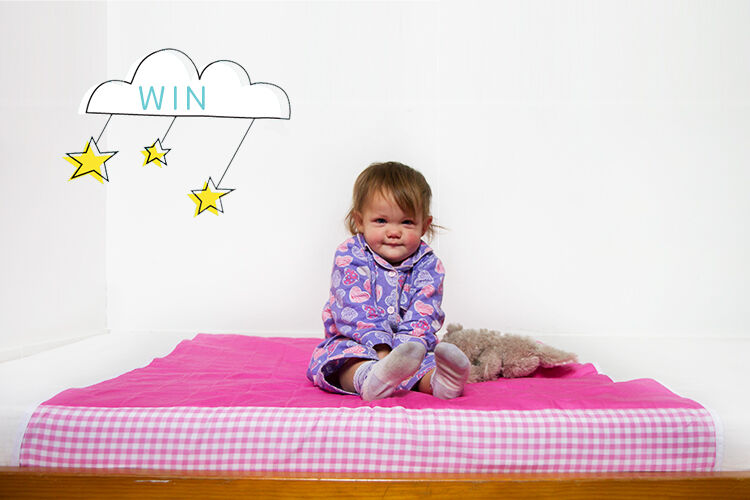 Win a toilet training system from brolly sheets