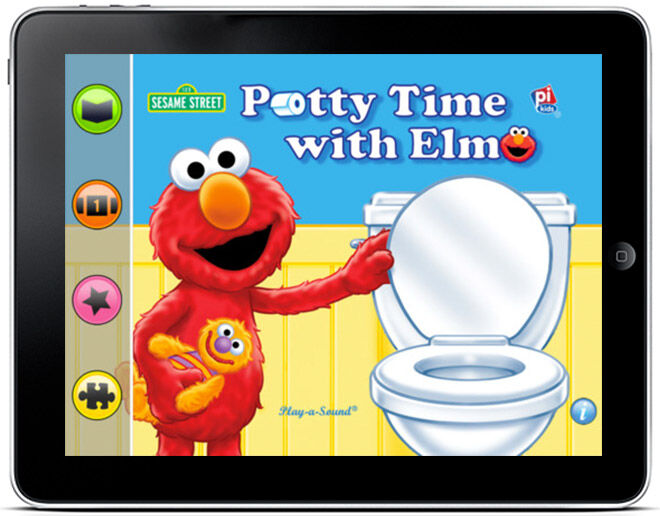 Potty Time with Elmo App