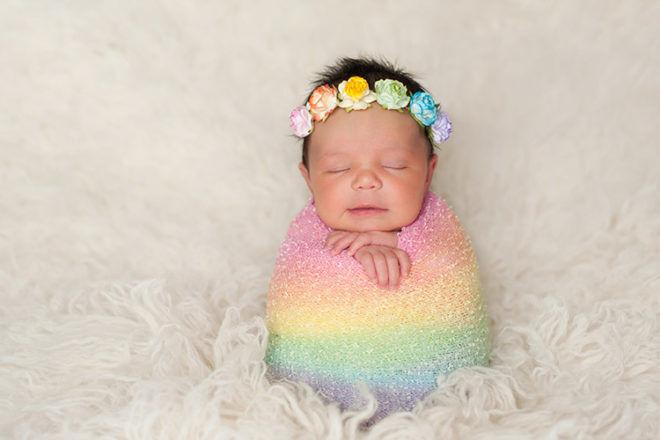 Rainbow Baby names