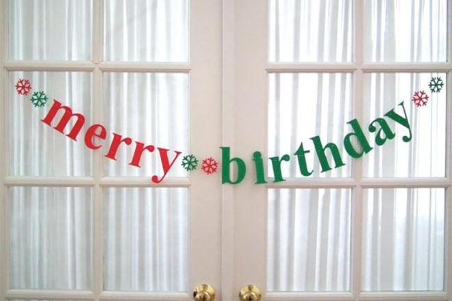 Merry Birthday: Tips for celebrating a Christmas Eve birthday