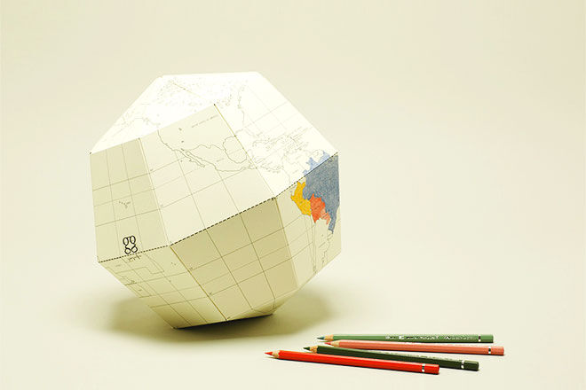 Short Story Paper colour in globe