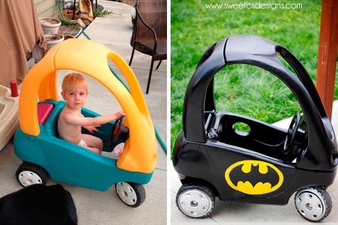 Upcycle a Cozy Coup into a Bat mobile
